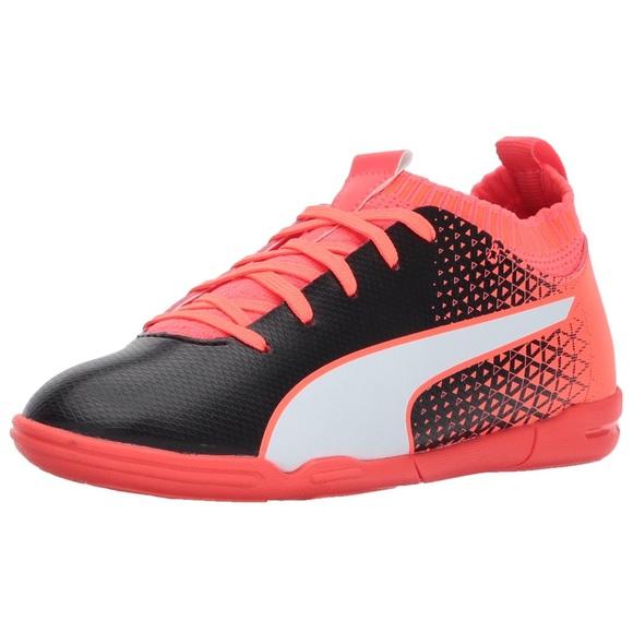 b2c2f842b PUMA Kids Evoknit FTB FG Indoor Futsal Soccer Shoe.  M_5b01c76684b5ced2a90bdb0e